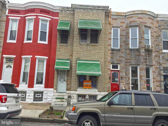 2109 W Fayette Street, BALTIMORE, MD 21223 (#MDBA526882) :: Ultimate Selling Team