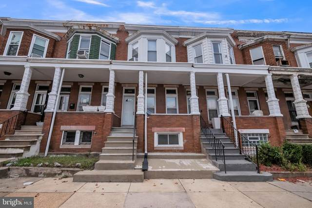 1608 Ruxton Avenue, BALTIMORE, MD 21216 (#MDBA526958) :: The Sky Group