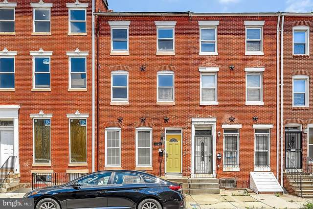1026 W Fayette Street, BALTIMORE, MD 21223 (#MDBA527016) :: The Sky Group