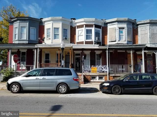 304 N Pulaski Street, BALTIMORE, MD 21223 (#MDBA527380) :: Blackwell Real Estate