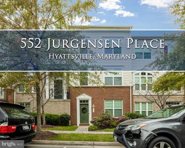 552 Jurgensen Place, LANDOVER, MD 20785 (#MDPG584334) :: The Redux Group