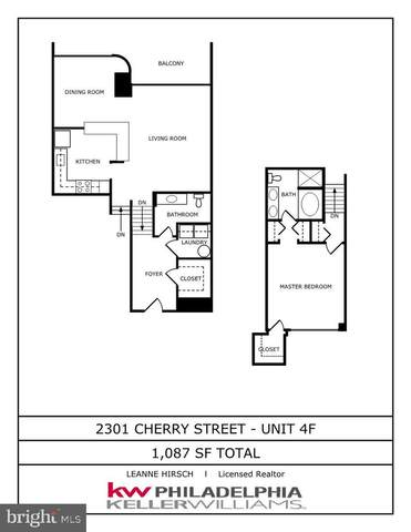 2301 Cherry Street 4F, PHILADELPHIA, PA 19103 (#PAPH944324) :: Jason Freeby Group at Keller Williams Real Estate
