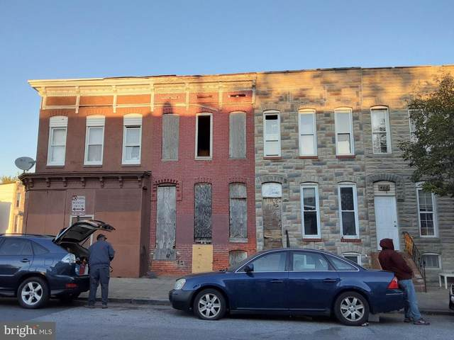 405 S Smallwood Street, BALTIMORE, MD 21223 (#MDBA527728) :: Jennifer Mack Properties