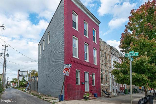 1828 Wilkens Avenue, BALTIMORE, MD 21223 (#MDBA527788) :: The Dailey Group