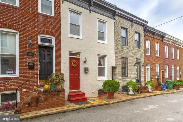 233 S Madeira Street, BALTIMORE, MD 21231 (#MDBA527814) :: SP Home Team