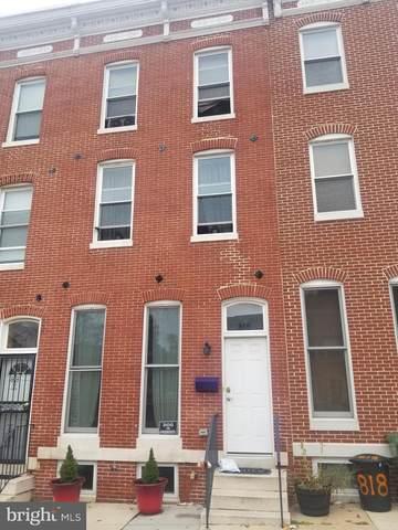 816 E Preston Street, BALTIMORE, MD 21202 (#MDBA527920) :: Fairfax Realty of Tysons