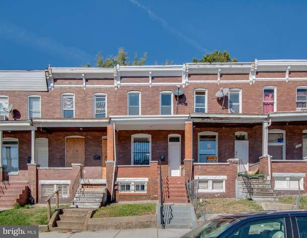 1910 E 28TH Street, BALTIMORE, MD 21218 (#MDBA528116) :: The MD Home Team