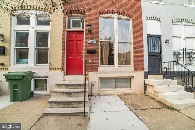 1412 E Oliver Street, BALTIMORE, MD 21213 (#MDBA528128) :: The Miller Team