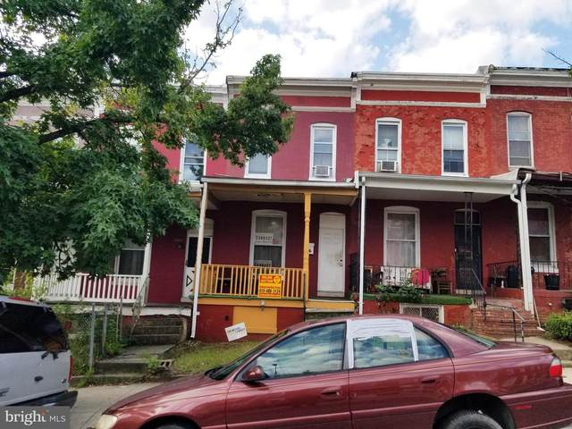 2507 W Pratt Street, BALTIMORE, MD 21223 (#MDBA528402) :: Jennifer Mack Properties