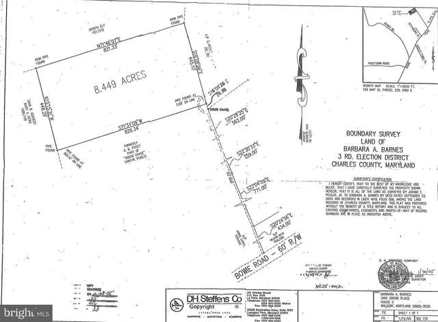Bowie Rd., NANJEMOY, MD 20662 (#MDCH218612) :: ExecuHome Realty