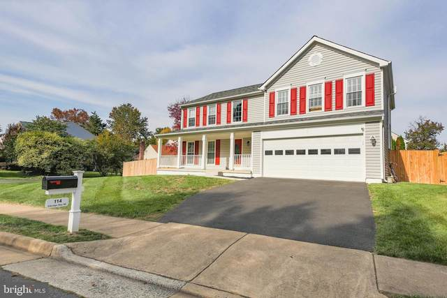 114 Elkridge Way NE, LEESBURG, VA 20176 (#VALO424080) :: Advance Realty Bel Air, Inc
