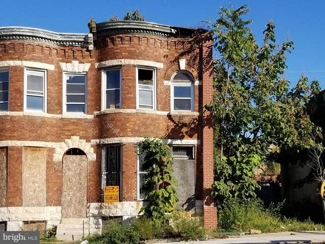 1706 W North Avenue, BALTIMORE, MD 21217 (#MDBA528494) :: Gail Nyman Group