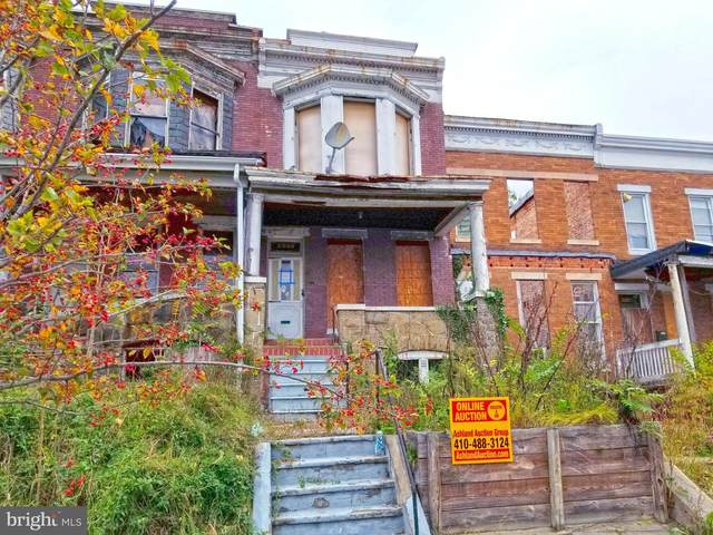 2942 W North Avenue, BALTIMORE, MD 21216 (#MDBA528756) :: Advon Group