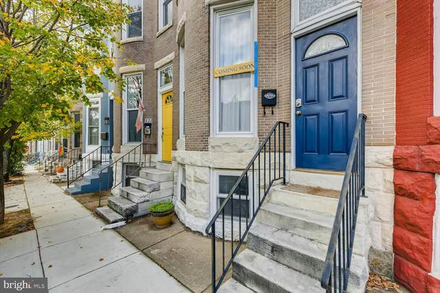 820 W 34TH Street, BALTIMORE, MD 21211 (#MDBA528814) :: The Bob & Ronna Group