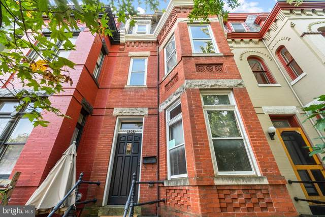 1808 S Street NW, WASHINGTON, DC 20009 (#DCDC493596) :: AJ Team Realty