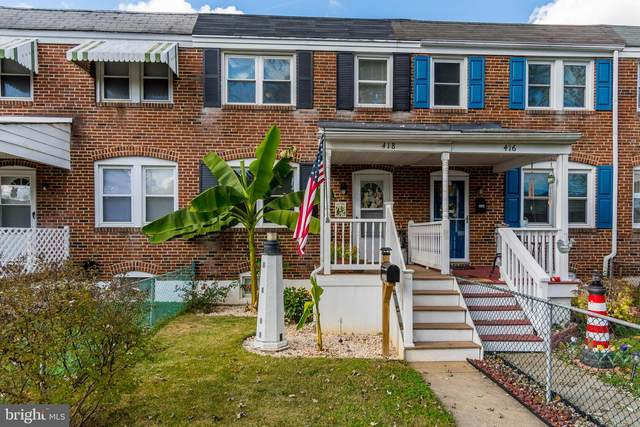418 Old Riverside Road, BALTIMORE, MD 21225 (#MDAA450808) :: The Miller Team