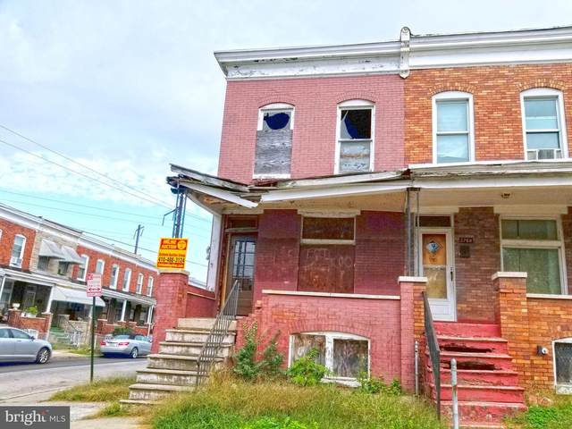 2770 Kinsey Avenue, BALTIMORE, MD 21223 (#MDBA529058) :: The Miller Team