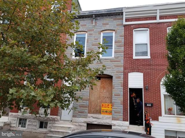 435 N Patterson Park Avenue, BALTIMORE, MD 21231 (#MDBA529076) :: SP Home Team