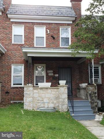 1421 N Ellamont Street, BALTIMORE, MD 21216 (#MDBA529088) :: Jacobs & Co. Real Estate