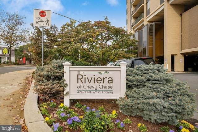 4242 East West Highway #705, CHEVY CHASE, MD 20815 (#MDMC731902) :: V Sells & Associates | Keller Williams Integrity