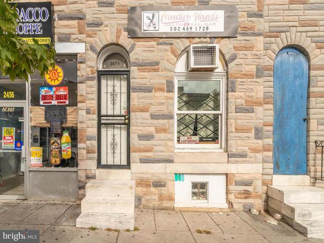 2438 E Monument Street, BALTIMORE, MD 21205 (#MDBA529296) :: BayShore Group of Northrop Realty