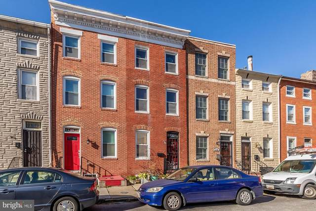 318 Albemarle Street, BALTIMORE, MD 21202 (#MDBA529372) :: The Sky Group