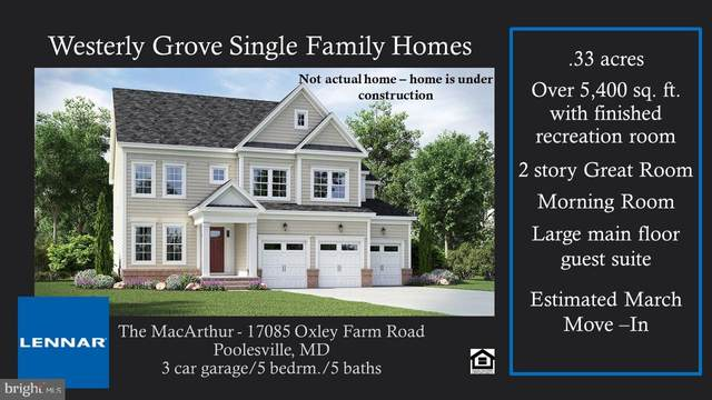 17085 Oxley Farm Rd, POOLESVILLE, MD 20837 (#MDMC732144) :: The Redux Group