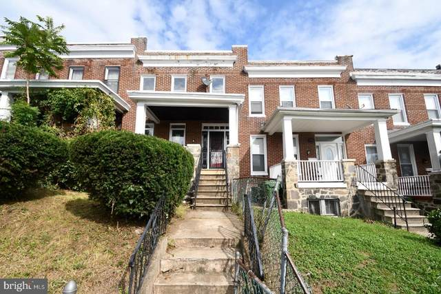 1015 N Rosedale Street, BALTIMORE, MD 21216 (#MDBA529450) :: Bob Lucido Team of Keller Williams Integrity