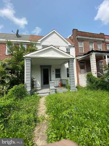 3710 Arcadia Avenue, BALTIMORE, MD 21215 (#MDBA529480) :: Speicher Group of Long & Foster Real Estate