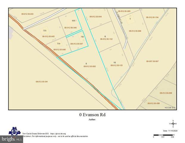 0 Evanson Road, HOCKESSIN, DE 19707 (#DENC512342) :: Keller Williams Realty - Matt Fetick Team