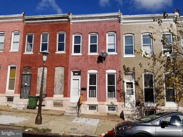 2512 W Fayette Street, BALTIMORE, MD 21223 (#MDBA529940) :: The Miller Team