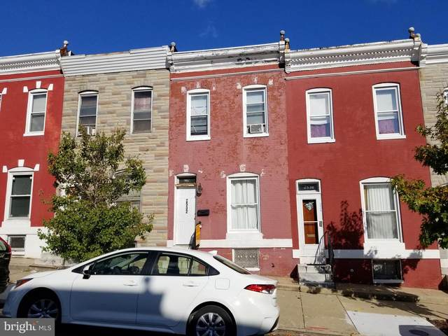 2532 W Fayette Street, BALTIMORE, MD 21223 (#MDBA529942) :: The Miller Team
