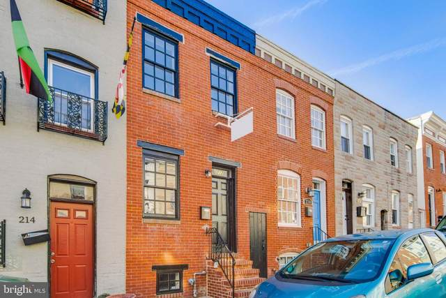 212 S Castle Street, BALTIMORE, MD 21231 (#MDBA530066) :: Ultimate Selling Team