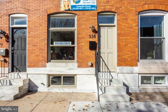 413 S Robinson Street, BALTIMORE, MD 21224 (#MDBA530220) :: The Miller Team
