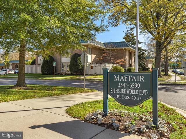 3545 S Leisure Wld Boulevard 22-B, SILVER SPRING, MD 20906 (#MDMC733102) :: Certificate Homes
