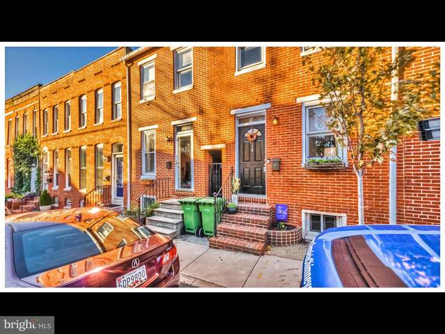 118 E Gittings Street, BALTIMORE, MD 21230 (#MDBA530416) :: The Miller Team