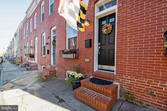 103 N Rose Street, BALTIMORE, MD 21224 (#MDBA530442) :: The Sky Group