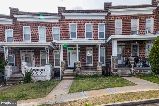 1016 N Rosedale Street, BALTIMORE, MD 21216 (#MDBA530494) :: Gail Nyman Group