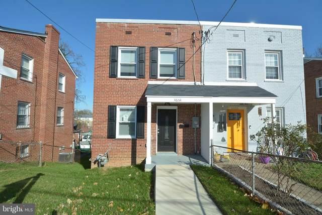 4654 A Street SE, WASHINGTON, DC 20019 (#DCDC496208) :: Gail Nyman Group