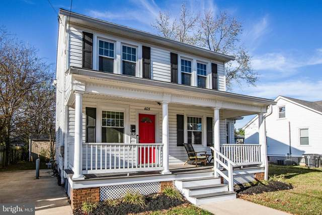 405 Virginia Avenue, FREDERICKSBURG, VA 22401 (#VAFB118140) :: The Dailey Group