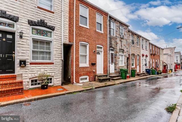 415 S Madeira Street, BALTIMORE, MD 21231 (#MDBA531246) :: The Sky Group