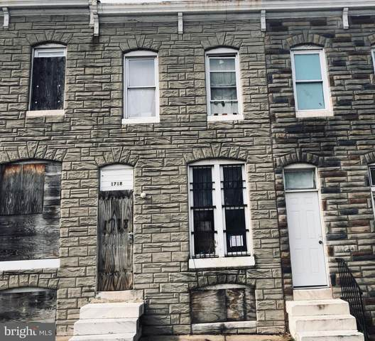 1718 N Montford Avenue, BALTIMORE, MD 21213 (#MDBA531306) :: The Sky Group