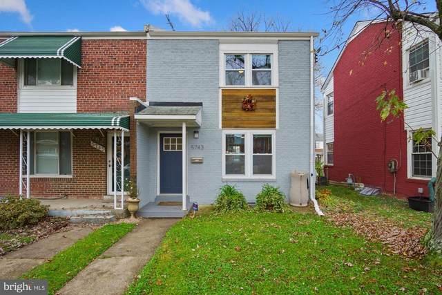 5743 5TH Street NE, WASHINGTON, DC 20011 (#DCDC497392) :: Great Falls Great Homes