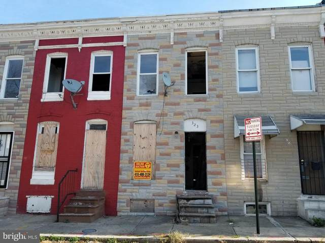 323 Furrow Street, BALTIMORE, MD 21223 (#MDBA532018) :: Ultimate Selling Team