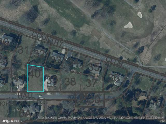 Lot 40 Hall Drive, OCEAN CITY, MD 21842 (#MDWO118514) :: The Redux Group