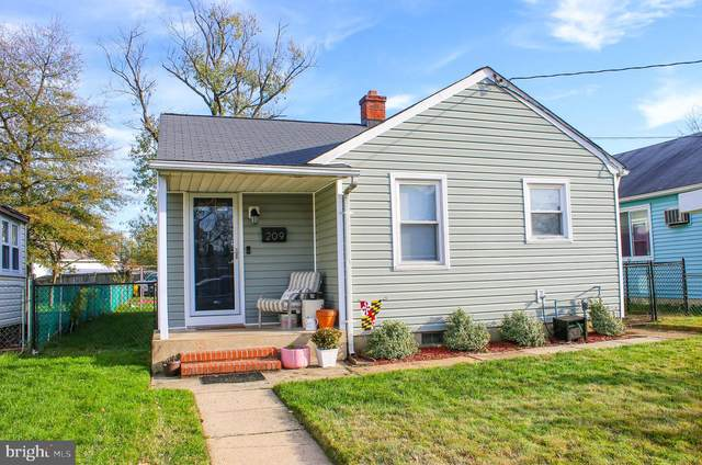 209 N Street SE, GLEN BURNIE, MD 21061 (#MDAA453390) :: Better Homes Realty Signature Properties