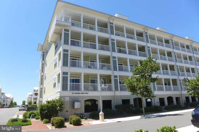 39 Fountain Dr W 2F, OCEAN CITY, MD 21842 (#MDWO118564) :: Speicher Group of Long & Foster Real Estate