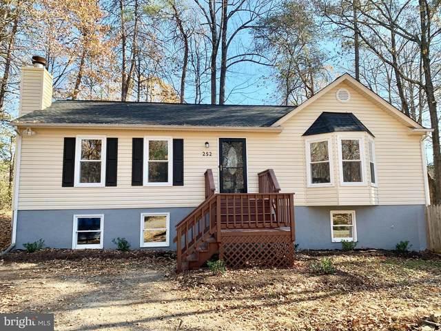 252 Hampshire Drive, RUTHER GLEN, VA 22546 (#VACV123256) :: The Maryland Group of Long & Foster Real Estate