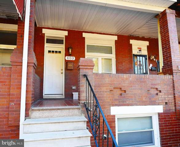 403 N Ellwood Avenue, BALTIMORE, MD 21224 (#MDBA532456) :: The Sky Group
