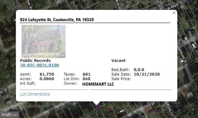 924 Lafayette, COATESVILLE, PA 19320 (#PACT525116) :: Keller Williams Real Estate